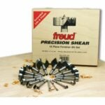 The Best Forstner Bit Set Options: Freud 16 Pcs. Precision Shear Forstner Drill Bit Set
