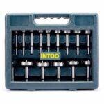 The Best Forstner Bit Set Options: INTOO Forstner Bit Set 16 pcs Wood Drill bit Set