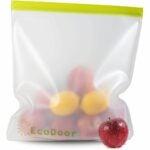 最好的冷冻袋选项:Ecodoor 2加仑尺寸可重复使用的冷冻机存储袋