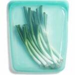 最好的冷冻袋选项:Sasisher 100%硅胶食品级可重复使用的存放袋