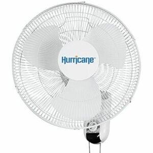 The Best Garage Fan Option: Hurricane Wall Mount Fan 16 Inch, Classic Series