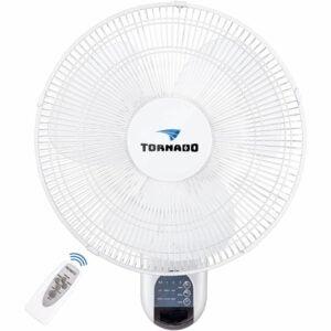 The Best Garage Fan Option: Tornado 16 Inch Remote Control Wall Mount Fan