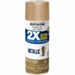 The Best Gold Spray Paint Options: Rust-Oleum American Accents Metallic Gold Spray Paint