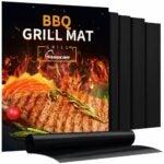 The Best Grill Mats Option: Aoocan Grill Mat - Set of 5 Heavy Duty BBQ Grill Mats