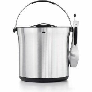 The Best Ice Bucket Option: OXO Ice Bucket and Tongs Set