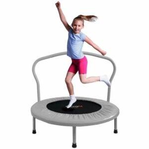 The Best Indoor Trampoline for Kids Option: ATIVAFIT 36-Inch Folding Trampoline