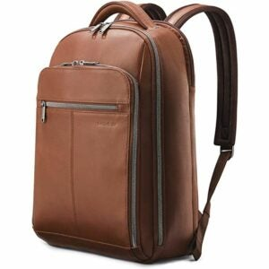 The Best Laptop Backpack Options: Samsonite Classic Leather Backpack