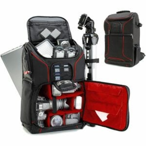 The Best Laptop Backpack Options: USA GEAR DSLR Camera Backpack Case