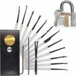 The Best Lock Pick Set Options: Amlgbed 15 PCS Lock Set Stainless Steel