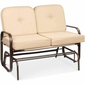 The Best Loveseat Options: Best Choice Products 2-Person Outdoor Glider Bench