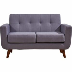 """The Best Loveseat Options: Langley Street Rumsey Linen 51"""" Square Arm Loveseat"""