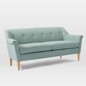 The Best Loveseat Options: West Elm Finn Sofa