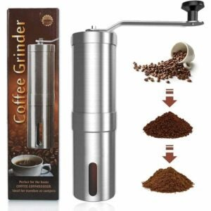 The Best Manual Coffee Grinder Options: Zadmory Manual Coffee Grinder