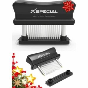 The Best Meat Tenderizer Option: XSpecial Meat Tenderizer Tool 48 Blades Stainless