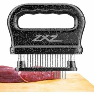 The Best Meat Tenderizer Option: ZXZ Meat Tenderizer, 48 Stainless Steel Sharp Needle