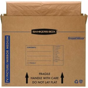 The Best Moving Boxes Option: Bankers Box SmoothMove TV/Picture/Mirror Moving Box