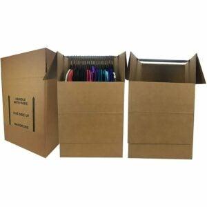 The Best Moving Boxes Option: uBoxes Bundle of 3 Corrugated Wardrobe Moving Boxes