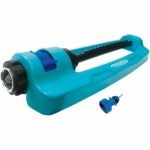 The Best Oscillating Sprinkler Options: Aqua Joe SJI-OMS16 Metal Base Oscillating Sprinkler