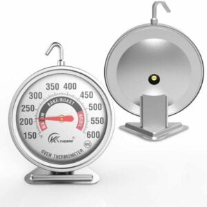 "The Best Oven Thermometer Option: KT THERMO Large 3"" Dial Oven Thermometer"
