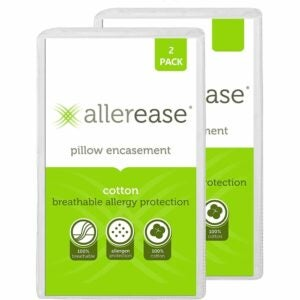 The Best Pillow Protector Options: AllerEase Allergy Protection Pillow Protectors