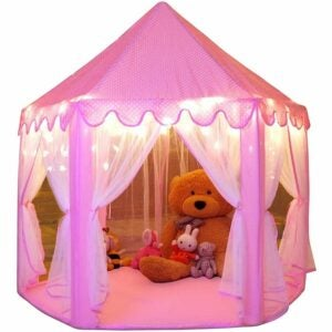 The Best Playhouse Option: Monobeach Princess Tent