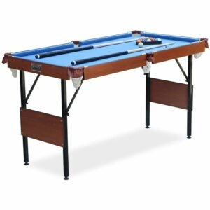 The Best Pool Table Options: RACK Crux Folding 55 in Billiard/Pool Table