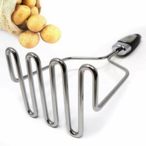The Best Potato Masher Option: Zulay Stainless Steel - Premium Masher Hand Tool