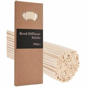 The Best Reed Diffuser Option: M&H 100PCS 10-Inch Reed Diffuser Sticks