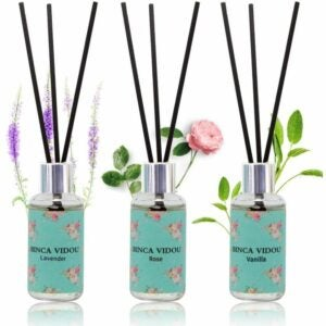 The Best Reed Diffuser Option: binca vidou Reed Diffuser Set of 3