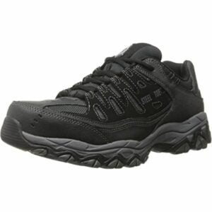 The Best Shoes for Roofing Option: Skechers for Work 77055 Cankton Athletic work sneaker