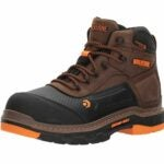 "The Best Shoes for Roofing Option: WOLVERINE Men's Overpass 6"" Waterproof Work Boot"