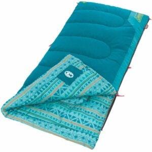 适合儿童的最佳睡袋选择:科尔曼孩子睡袋