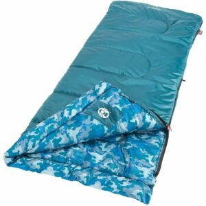 The Best Sleeping Bags for Kids Option: Coleman Plum Fun 45 Youth Sleeping Bag