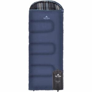 The Best Sleeping Bags for Kids Option: TETON Sports Celsius Jr Kids Sleeping Bag