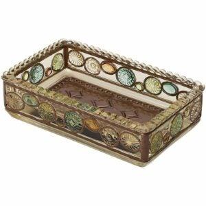 最好的肥皂菜选项:Zenna Home,Bronze Boddington Soap Dish