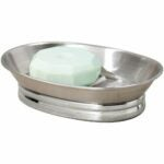 The Best Soap Dish Options: iDesign York Metal Soap Saver, Holder Tray