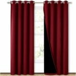 The Best Soundproof Curtains Options: NICETOWN 100% Blackout Curtains