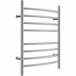 The Best Towel Warmer Option: HEATGENE Towel Warmer 8 Bar Plug-in Drying Rack