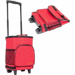 The Best Wheeled Cooler Option: dbest products Ultra Compact Cooler Smart Cart