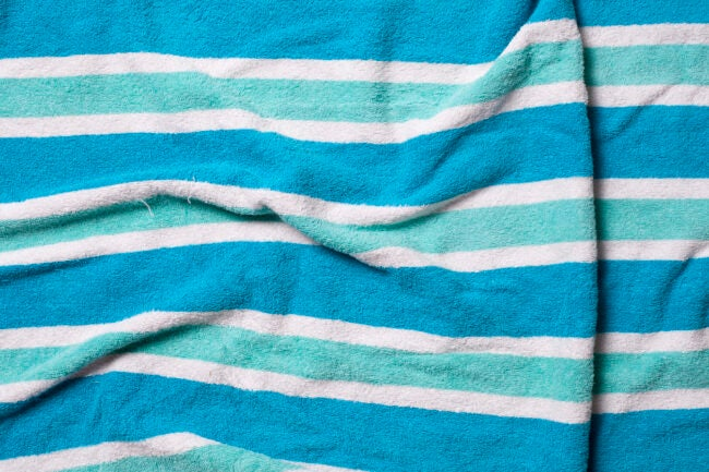 Best Beach Towel - Cotton Detail