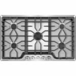 The Best Gas Cooktop Options: Frigidaire 36 in. Gas Cooktop in Stainless Steel