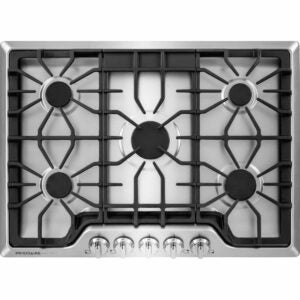 The Best Gas Cooktop Options: Frigidaire FGGC3047QS Gallery 30'' Gas Cooktop