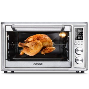 Best Air Fryer Toaster Oven Options: COSORI CO130-AO Air Fryer Toaster Oven Combo