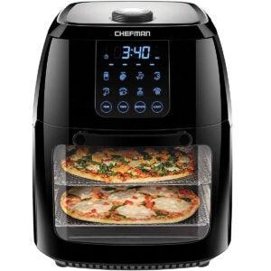 Best Air Fryer Toaster Oven Options: Chefman 6.3 Quart Digital Air Fryer