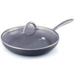 Best Ceramic Frying Pan Options: GreenPan Lima 12 Ceramic Non-Stick Covered Frypan