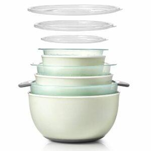 The Best Best Colander Options: OXO Good Grips 9-Piece Nesting Bowl & Colander Set