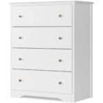 Best Dressers Options: HOMECHO Dresser with 4 Drawers