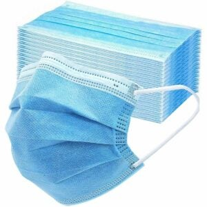 The Best Dust Masks Options: Asofcof 50PCS Disposable Face 3 Layer Anti-Dust Mask