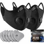 The Best Dust Masks Options: BASE CAMP M Plus Dust Mask 2 Pack with Extra Filters