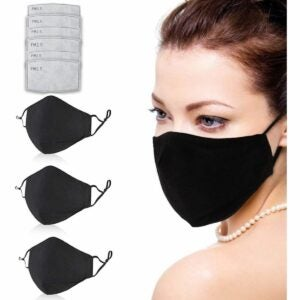 The Best Dust Masks Options: OTTOP Facial Protection Filtration 95%, Anti-Fog